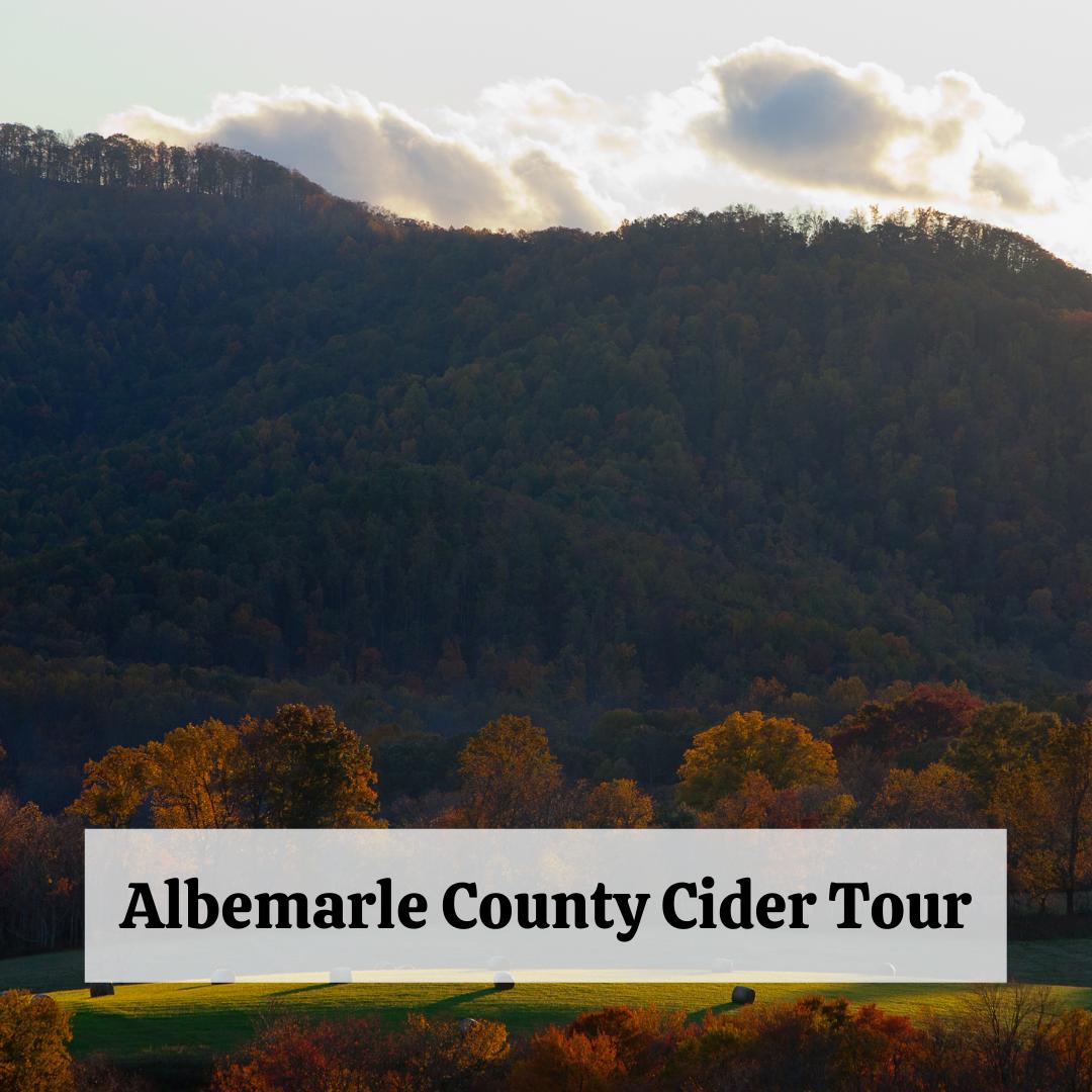 Albemarle County Cider Tour